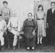 Casal Maria (nascida Scarsanella) e Pietro Bendo e filhos.  O pioneiro rondonense Antonio Bendo está à esquerda, em pé.