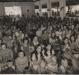 Culto no pavilhão da Comunidade Evangélica Martin Luther na década de 1960.