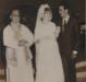 Casamento celebrado pelo padre Antonio Darius na Matriz Católica Sagrado Coração de Jesus.