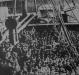 Navios chegam apinhados de imigrantes aos portos do Rio de Janeiro de Santos (SP).