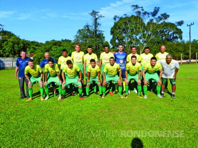 AACC equipe campeã da divisão Ouro do Campeonato Municipal de Futebol Amador de  Marechal Cândido Rondon 2019. Imagem: Acervo O Presente - Crédito: Gustavo Cunha (Olho na Bola) - FOTO 8 -