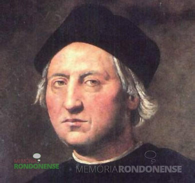 Cristóvão Colombo – pintura de autor desconhecido Imagem: Acervo do Museu do Prado – Madrid