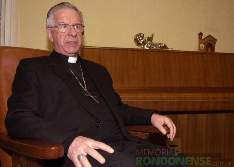D. Geraldo Magella Agnelo fotografado já como cardeal de Salvador, Bahia, e primaz do Brasil. Imagem: Acervo memóriaEBC - FOTO 3 -
