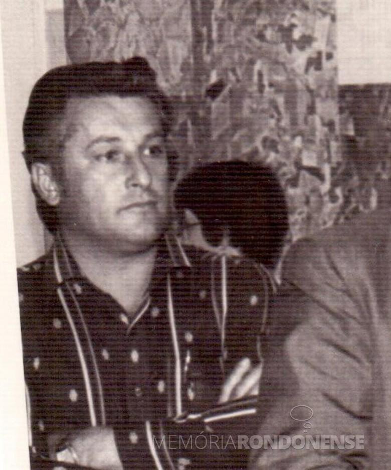Lothar Schiller nomeado secretário municipal de Viação e Obras Públicas, de Marechal Cândido Rondon, em maio de 1978.  Imagem: Acervo Memória Rondonense - FOTO 3 -