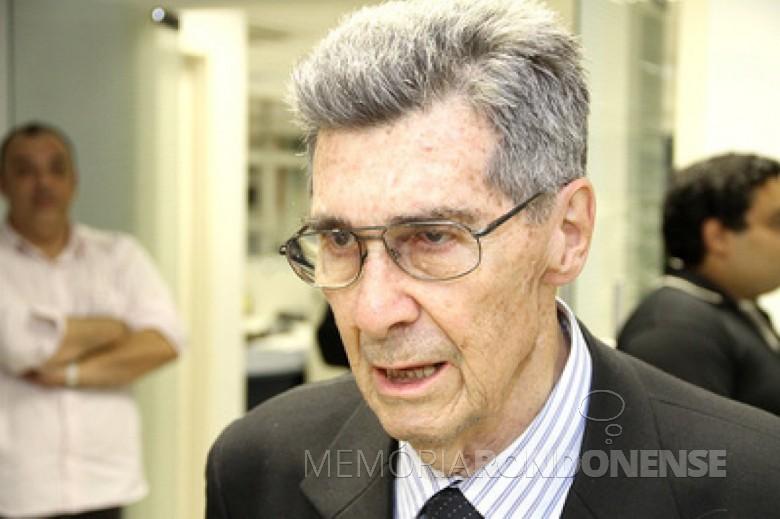 Engenheiro Osires Stenghel Guimarães.  Imagem: Acervo Portal Paraná - FOTO 8 -