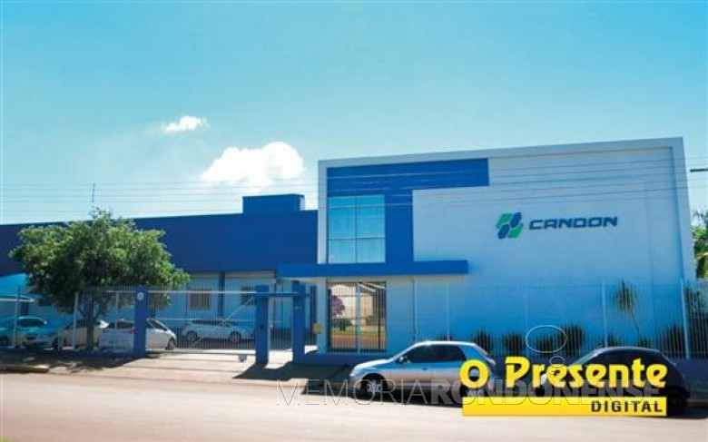 Sede da Candon Aditivos à Avenida Irio Jacob Welp, em Marechal Rondon, que teve 56% das ações vendidas a dinamarquesa Palsgaard S.A. Imagem: Acervo O Presente Crédito: Joni Lang - FOTO 8 -