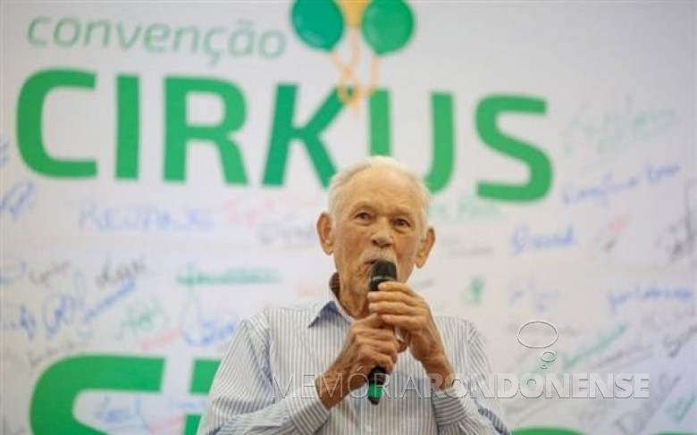 Pioneiro e agricultor Alfredo Kunkel falecido em 10 de março de 2017. Imagem: Acervo O Presente Digital - FOTO 5 -