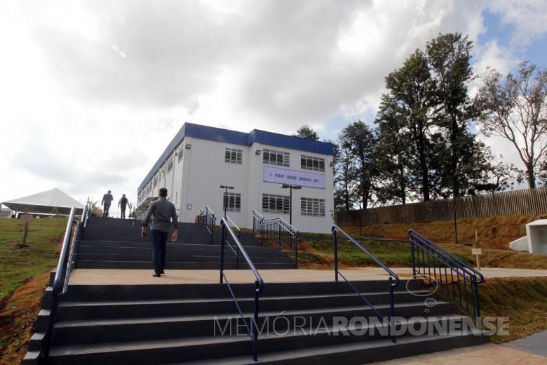 Unidade do SESI em Marechal Cândido Rondon inaugurada em 20 de maio de 2015.  Imagem: Acervo agenciafiep.com.br - FOTO 5 -