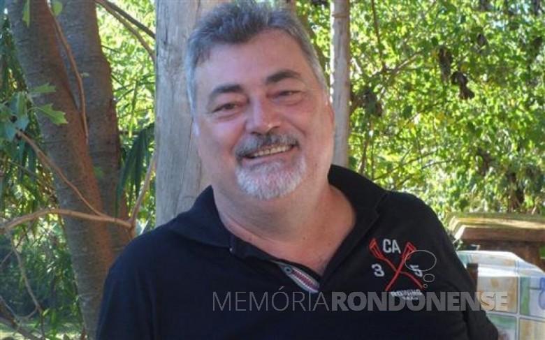 Engenheiro-civil Vitor Giacobbo que assumiu o SAAE- Marechal Cândido Rondon, em janeiro de 2017. Imagem: Acervo O Presente - FOTO 3 -