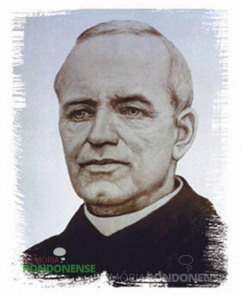 Padre Theodor Amstad, suíço, fundador do cooperativismo de crédito no Brasil. Imagem: Acervo Sistema Sicredi – FOTO 3 -