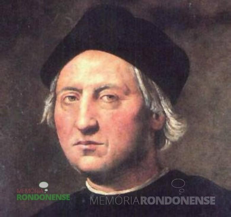 Cristóvão Colombo, pintado por Ridolfo Ghirlandalo - Galata Museo del Mare - Gênova - Itália. – FOTO 3 -