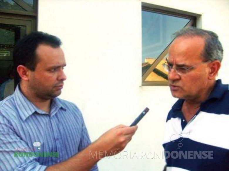 Afonso Francener, à direita de óculos. Imagem: Acervo www.trombetaonline.com.br - FOTO 5 -