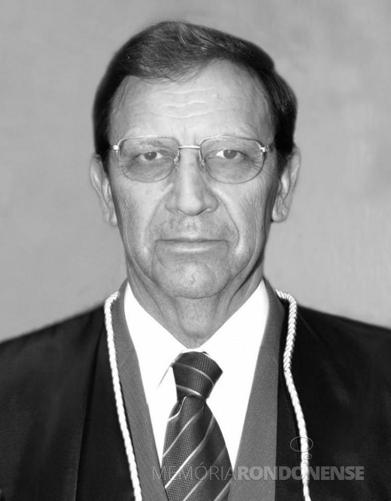 Juiz João Kopytowski, depois  desembargador da Tribunal de Justiça do Estado do Paraná. Imagem: Acervo TJ-PR - FOTO 3 -
