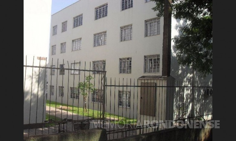 Vista parcial do Conjunto Habitacional Tancredo Neves, em Marechal Cândido Rondon.  Imagem: Acervo Projeto Memória Rondonense - FOTO 5 -