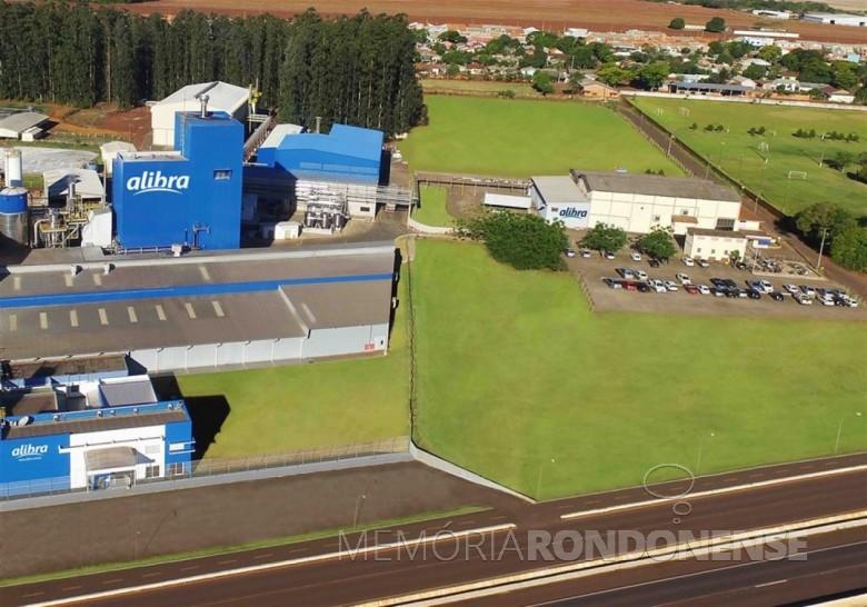Unidade da Alibra na cidade de Marechal Cândido Rondon.  Imagem: Acervo Milkpoint - FOTO 3 -