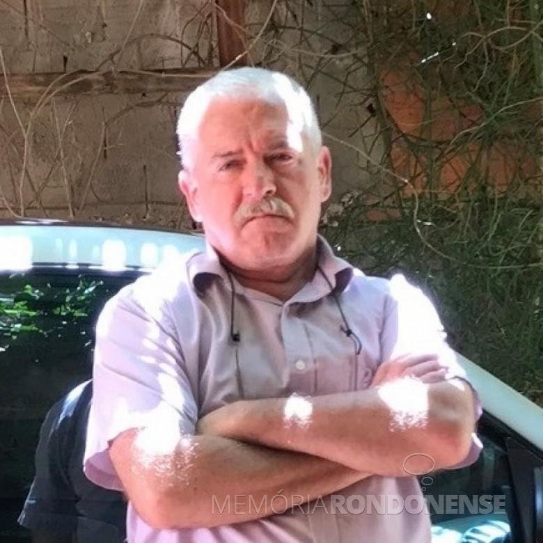 Professor Elói Veit falecido em começo de março de 2020. Imagem: Acervo O Presente - FOTO 10 -