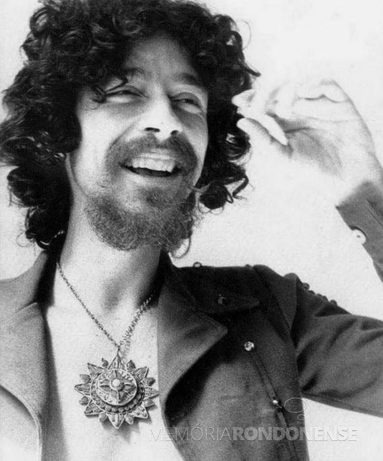 Músico Raul Seixas falecido em agosto de 1989. Imagem: Acervo Entretenimento. vol. com - FOTO 2 -