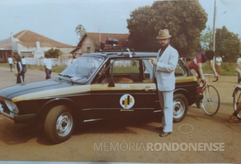 Hamilton Mocelin que foi diretor do Detran PR, de Marehal Cândido Rondon, falecido em final de janeiro de 2007. Imagem: Acervo Fernando Mocelin - FOTO 5 -