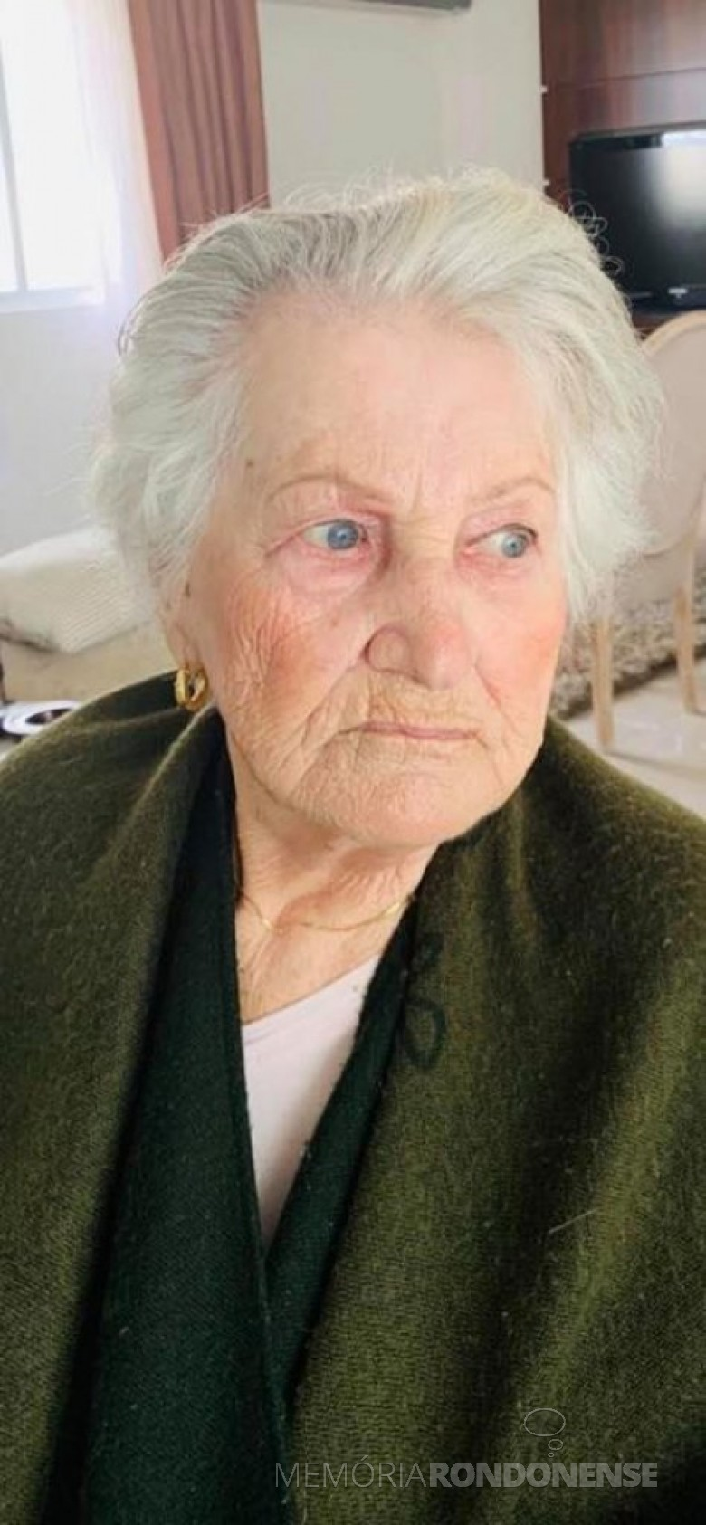 Professora rondonense Amábile Brembati falecida em final de junho de 2020. Imagem: Acervo Marley Brembati - FOTO 14 --