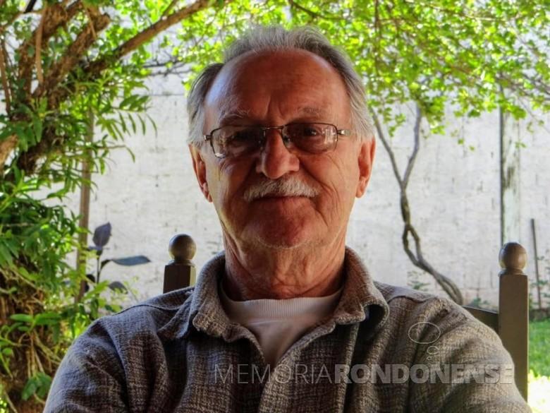 Empresário rondonense Felicío Karpinski falecido no começo de julho de 2020. Imagem: Acervo Victor Marcos Karpinski - FOTO 20 -