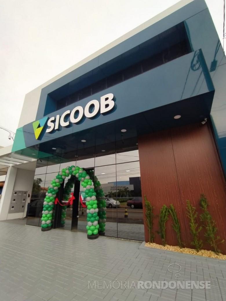 Agência do SIOOB Marechal  instalada na cidade de Pato Bragado e inagurada em final de julho de 2020. Imagem: Acervo O Presente - FOTO 10 --