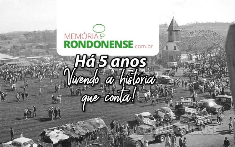 Banner alusivo ao 5º aniversário do Projeto do Memória Rondonense, ocorrido em setembro de 2020. Imagem Acervo Projeto Memória Rondonense - Arte: Tioni de Oliveira - FOTO 18 -