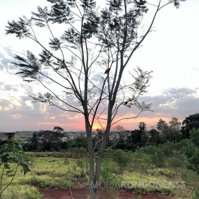 Outro instantâneo do por do sol em Marechal Cândido Rondon, em 02 de setembro de 2020, captado pelo rondonense Rômulo Peres Peres, desde a região sul da cidade. - FOTO 13 -