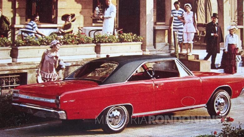 Dodge Dart 1970 lançado em outubro de 1969.  Imagem: Acervo Marco Antonio Amaral (O Brasil do Passado) - FOTO 7 -