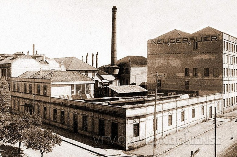 Fábrica da Neugebauer na cidade de Porto Alegre.  Image: Acervo GZH (Porto Alegre) - FOTO 3 -