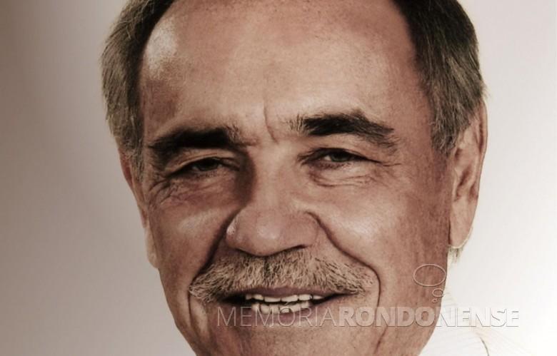 Duílio Genari eleito prefeito da cidade de Toledo, em 1976. Imagem: Acervo Jornal do Oeste - FOTO 8 -
