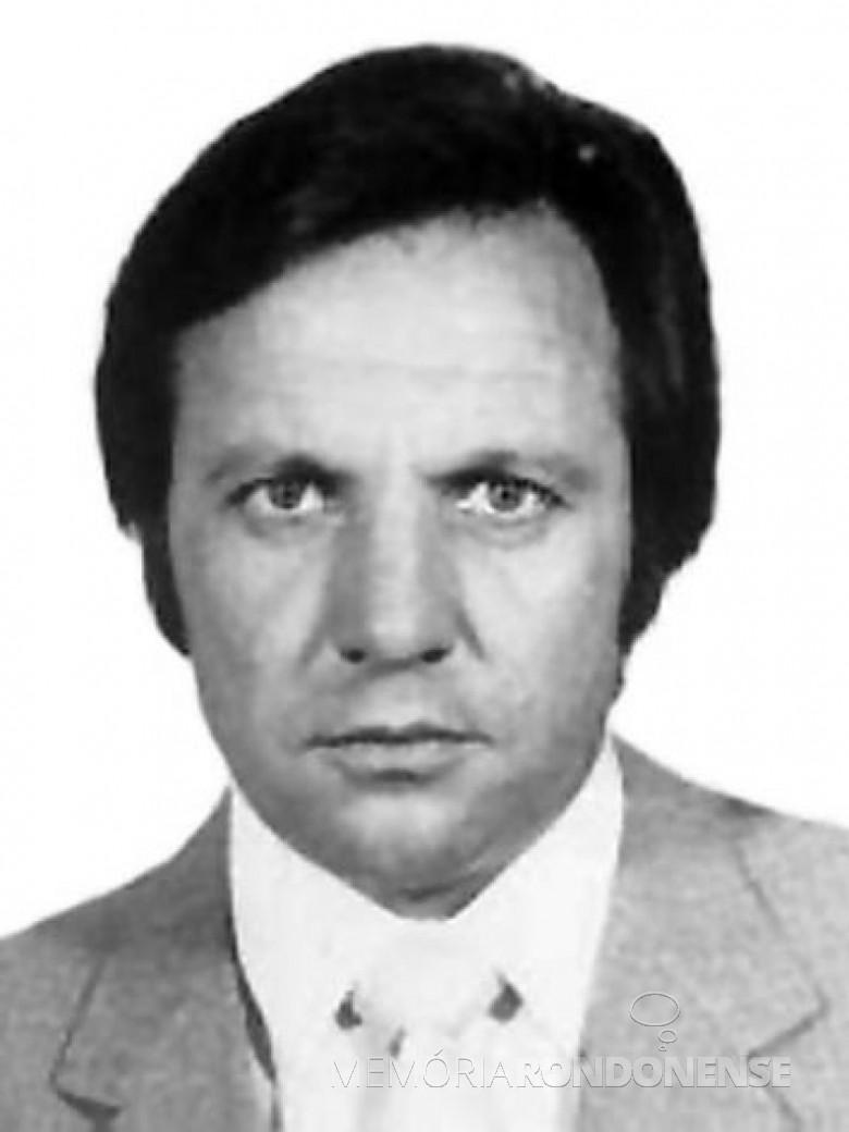 Antonio Mazurek eleito deputado federal em 1978. Imagem: Acervo Câmara dos Deputados -- FOTO  9 -