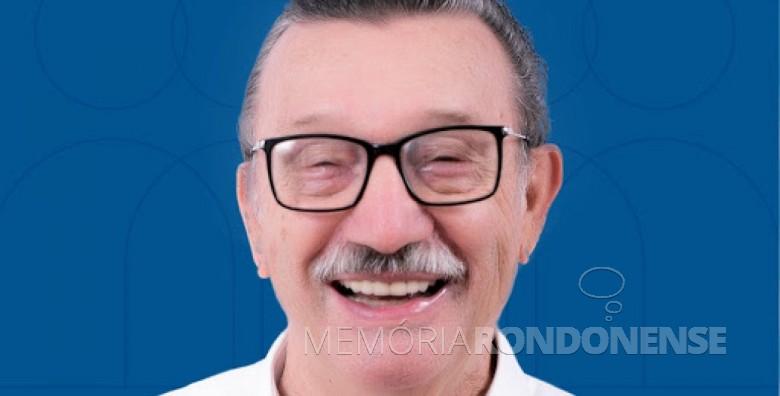 Albino Corazza Neto, eleito prefeito do município de Toledo, em novembro de 1982.  Imagem: Acervo PDT - FOTO 12 -