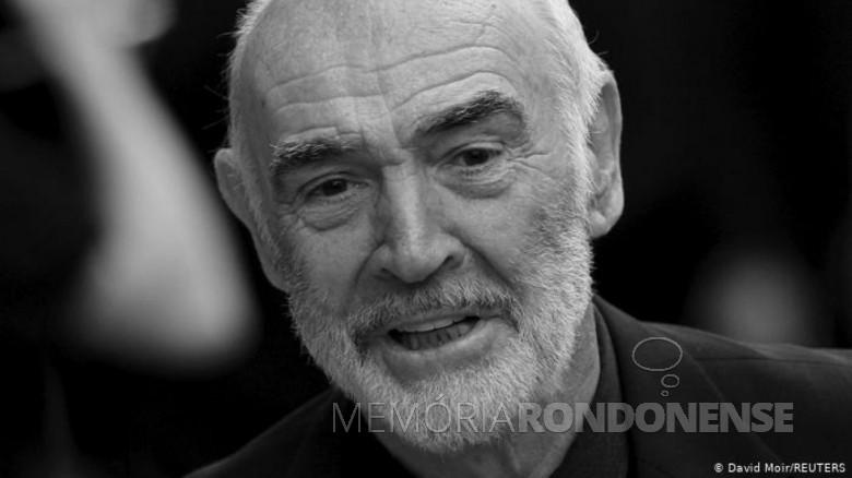 Ator escocês Sean Connery morto em final de outubro de 2020. IMagem: Acervo Deutsche Welle - FOTO 13 -