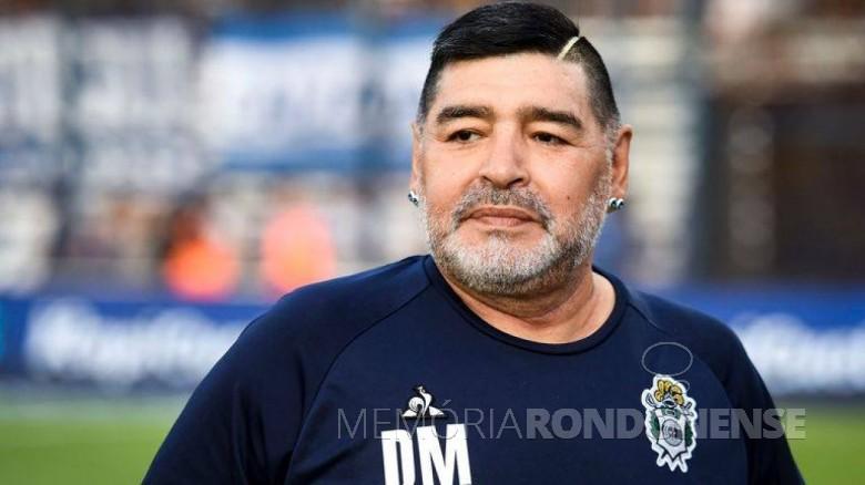 Atleta argentino Diego Armando Maradona, morto em final de novembro de 2020. Imagem: Acervo IG Esportes - FOTO 11 -