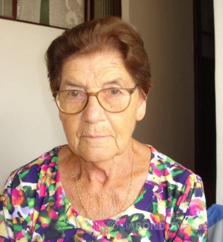 Pioneira rondonense Verônica Bet falecida em 01 de janeiro de 2020. Imagem: Acervo Ilda Bet - FOTO 43 -