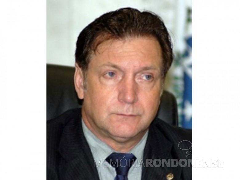 Empresário Ademir Antonio Osmar Bier eleito prefeito de Marechal Cândido Rondon, em outubro de 1992. Imagem: Acervo The Cities - FOTO 12 -