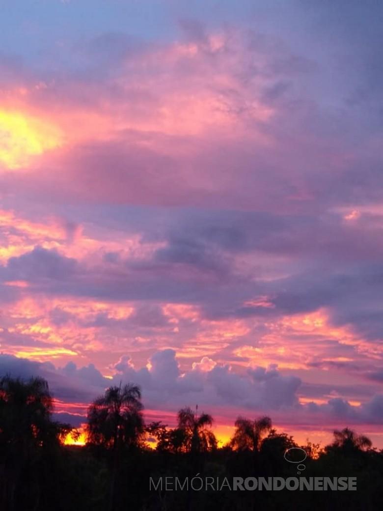 Noitinha em Marechal Cândido Rondon, em 23 de janeiro de 2021. Imagem: Acervo e crédito de Ilda Bet - FOTO 15 -