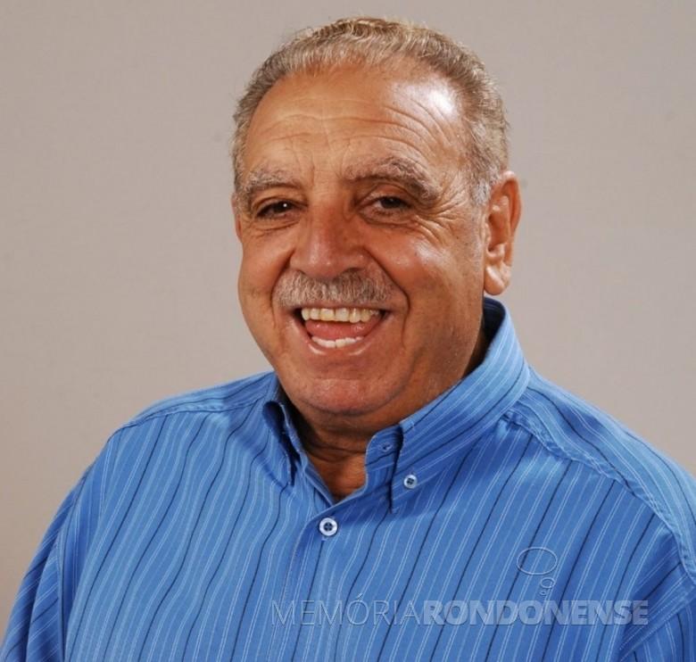 Salazar Barreiros, ex-prefeito de Cascavel (PR),  falecido em começo de fevereiro de 2021. Imagem: Acervo G1 Globo - FOTO 12 -