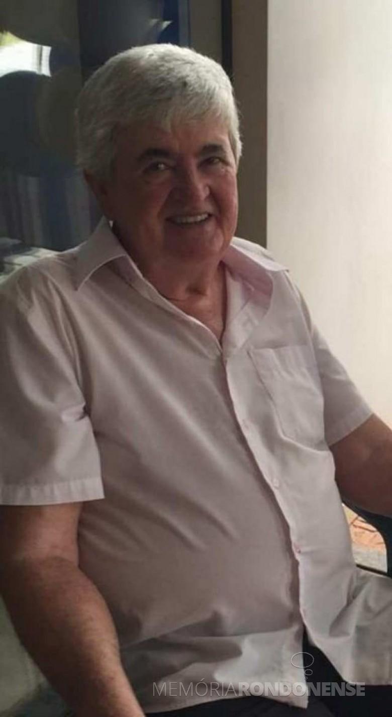 Pioneiro rondonense Nelson Ari Roesler falecido em fevereiro de 2021. Imagem: Acervo Felipe do Amaral Roesler - FOTO 12 -