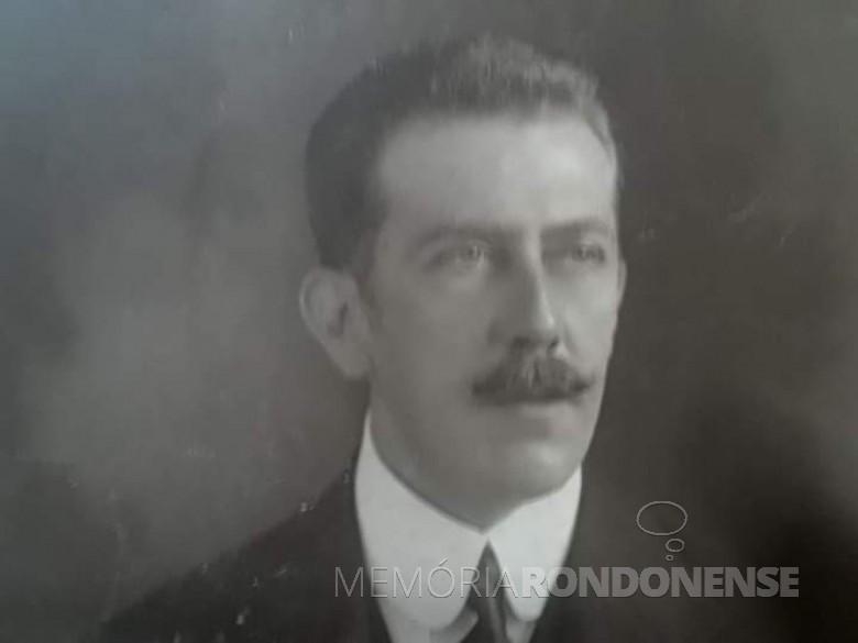 Desembargador Carlos Pinheiro  Guimarães. Imagem: Acervo Memória Paranaense - FOTO 1 -