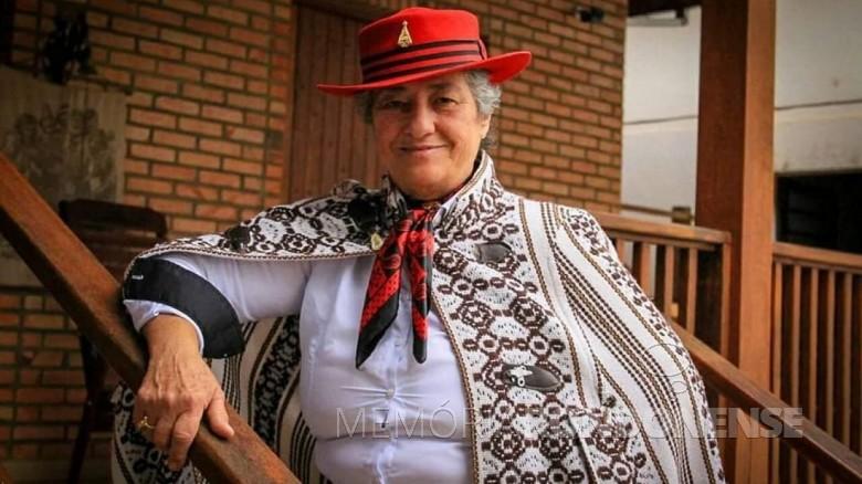 Cantora gaúcha Berenice da Conceição Azambuja falecida em junho de 2021. Imagem: Acervo O Correio - FOTO  8 -