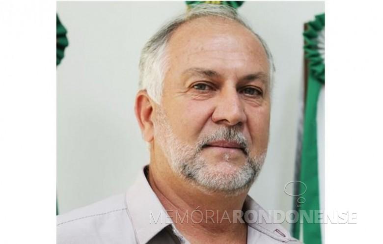 Marcos Vilas Boas Pescador, prefeito municipal de Vera Cruz do Oeste, falecido em começo de junho de 2021. Imagem: Acervo G1-Globo - FOTO 15 -