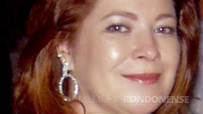 Jornalista cascavelense Rose Bracht falecida em junho de 2021. Imagem: Acervo Alerta Paraná - FOTO 20 -