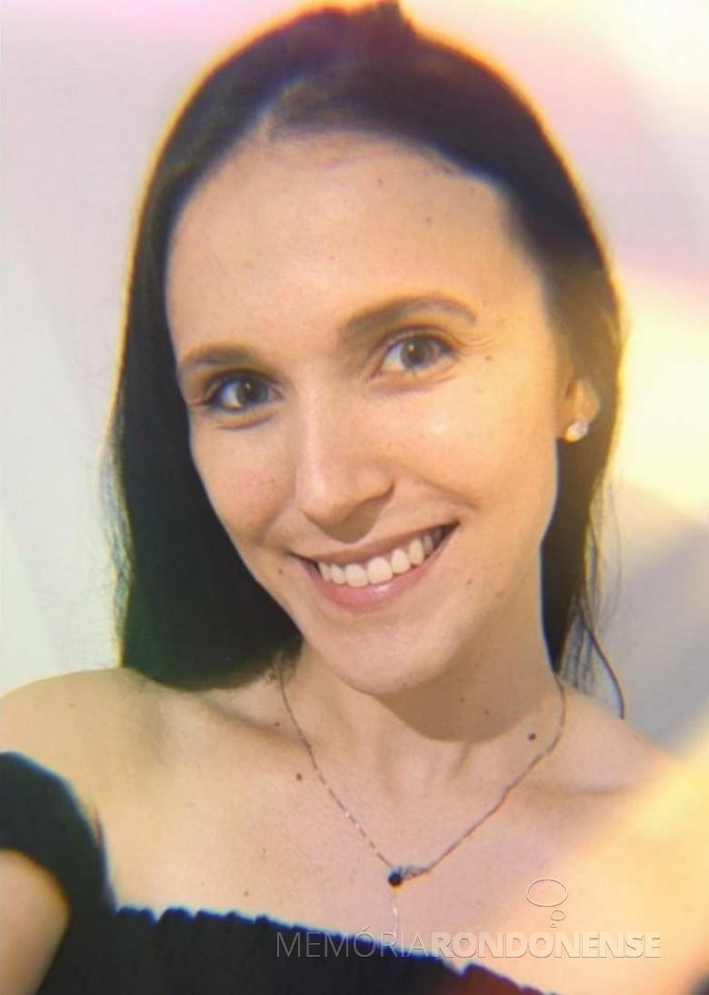 Jovem rondonense Isabela Sandini Santana morta em acidente de trânsito, em julho de 2021. Imagem: Acervo Rádio Difusora do Paraná - FOTO 11 -