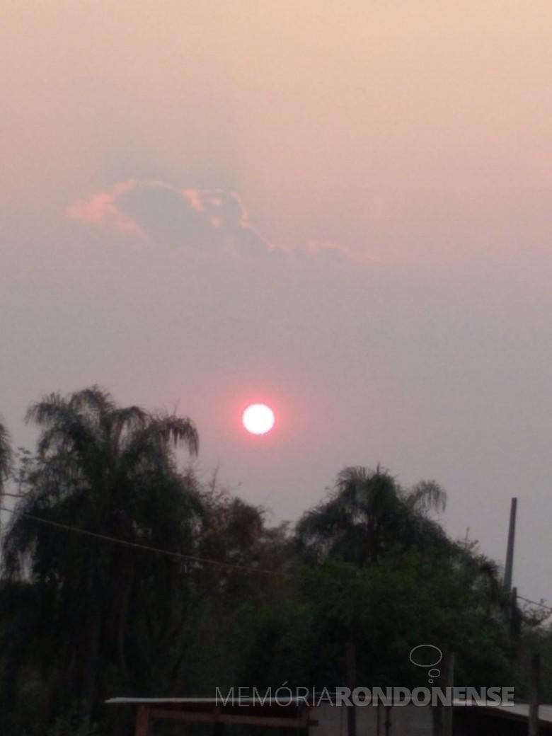 Final de tarde em Marechal Cândido Rondon, no dia 20 de setembro de 2021 - FOTO  14 -
