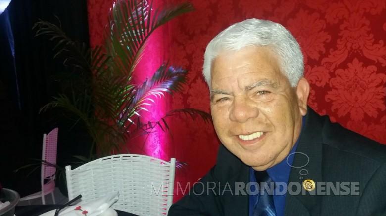 Carlos Alberto Rodrigues (Bolinha), atual proprietário do escritório de contabilidade Bolinha.  Imagem: Acervo pessoal - FOTO 2 -