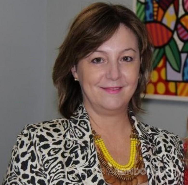 Maria Cleonice Froehlich anunciada pelo PSL de Marechal Cândido Rondon como pré-candidata à prefeita nas eleições municipais de 2020.  Imagem: Acervo O Presente - FOTO 9 -