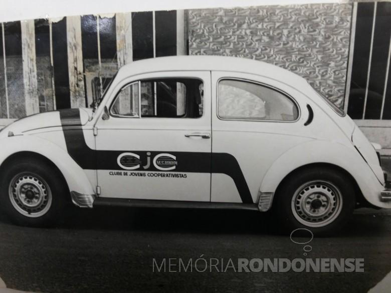 Primeiro veículo colocado pela Copagril  para atendimento aos Clubes de Jovens Cooperativistas, agora Clubes de Jovens da Copagril.  Imagem: Acerco Comunicação Copagril - FOTO 6 -