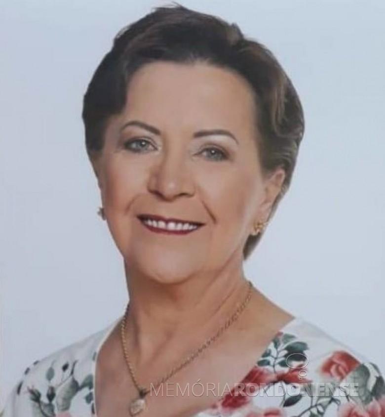 Professora rondonense Néldi Dalposso falecida no começo de julho de 2019.  Imagem: Acervo O Presente - FOTO 17 -