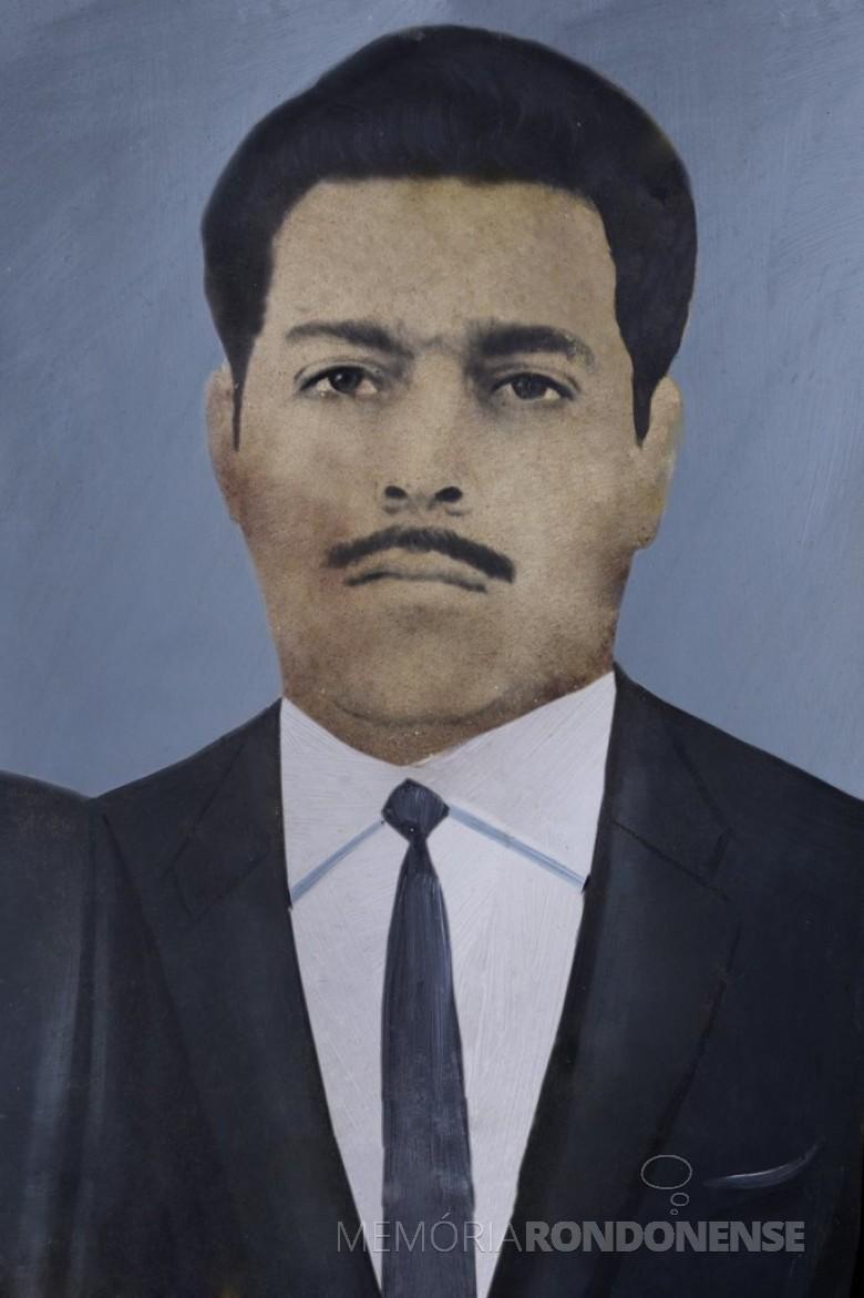 Jossoé do Amaral Campos, juiz de Direito, que assumiu a comarca de Marechal Cândido Rondon, em 1970.  Imagem: Acervo Câmara Municipal de Marechal Cândido Rondon - FOTO 3 _